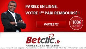 Betclic sur Facebook avec Marcel Desailly