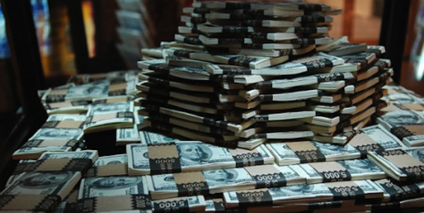Parieur professionnel et l'argent des paris