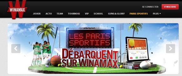 Winamax après le poker, le site de paris en ligne